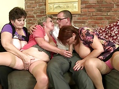Old slut mothers suck and smash not their sons