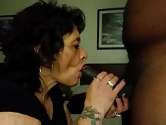 Grandmother Deepthroats A MEAN DONG