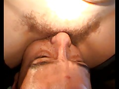 Hairy, very wet, vagina linking extraordinary
