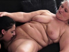 Coco Demal gets pussy eaten by grannie after she licked hers