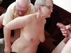 Elder hubby fucked with young man
