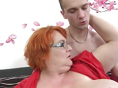 Granny SSBBW fucked by young dude