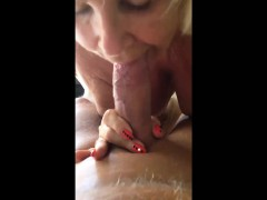 Mature Blondie Granny Indeed Loves Cock