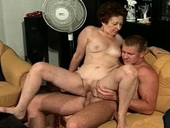 Furry Grandmother Fucked By Horny Stud