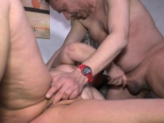HausfrauFicken - Chubby German granny gets fucked gonzo