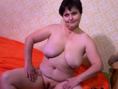 OmaHotel Huge-boobed mature grandmothers masturbating