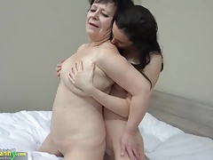 OLDNANNY Super-hot girl with  boinks yam-sized fat granny