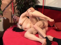 Horny Plus-size wet pussy fucked in various positions