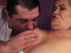 Hairy Granny Susanne Rough Fuck