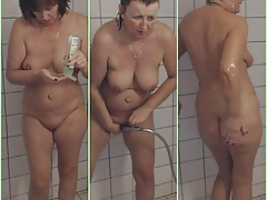 Grannie in the shower