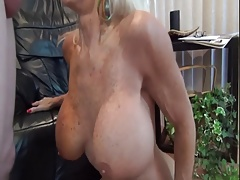 Granny likes  young cock.