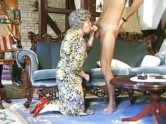 German Granny Can't Wait To Fuck Youthfull Delivery Guy