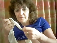 Mature shows her husband