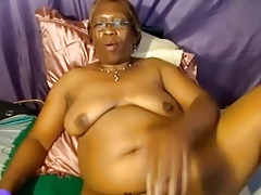 Black Granny on Skype