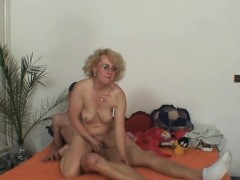 Wife finds aged  riding her man's cock