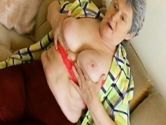 OmaHoteL Additional Hairy Granny Seductive Striptease