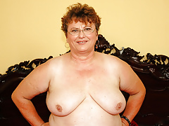 Chubby mature and her young paramour