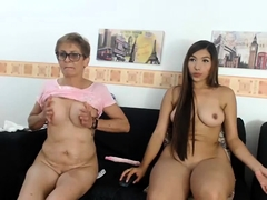 Busty Granny in