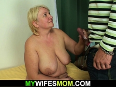 Taboo sex with  old mother-in-law