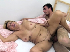 90 years older granny gets rough fucked