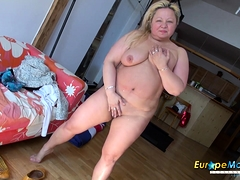 EuropeMaturE Busty Mature Nina Showoff
