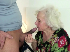 GERMAN ORDERLY CAUGHT Grannie MASTURBATE AND HELP WITH Tear up
