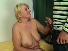 Enormous tits mother in law  his cock